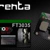 ผ้าเบรคหลัง BRENTA ORGANIC BRAKE PADS FT3035 (สำหรับ Ducati,Benelli,KTM,Kawasaki)