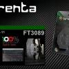 ผ้าเบรคหลัง BRENTA ORGANIC BRAKE PADS สำหรับ (Kawazaki ER6N/F 650 09-11) FT30389