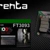 ผ้าเบรคหน้า BRENTA ORGANIC BRAKE PADS สำหรับ (Ducati,BMW) FT3093