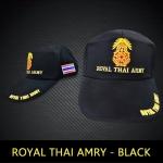 หมวกแก็ป Royal Thai Army ดำ