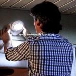 อุปกรณ์แสงสว่างใช้แบตเตอรี่