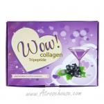 ZD54 Wow Collagen ว๊าว คอลลาเจน กล่อง 5 ซอง รสบลูเบอรี่