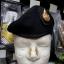 หมวกใบเล่ย์ดำ จัดทรง ตั้ง (ราคานี้ ไม่รวมหน้าหมวก) thumbnail 5