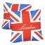 หมอนอิง ลายธงชาติอังกฤษ สวยๆ งามๆ ขนาด 18 x 18 นิ้ว ขายที่ละเป็นคู่ thumbnail 1