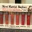 The Balm Meet Matte Hughes 6 Mini Long Lasting Liquid Lipstick Set thumbnail 6
