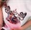 Icevanilla Cartoon Printed Diamond Stitching Lace Blouse thumbnail 5