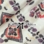Lady Ribbon Crystal Embellished Cotton Silk Dress thumbnail 9
