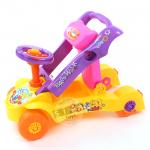 รถผลักเดิน + รถขาไถ 2in1 สีชมพู (Multi-Functional educational walker)...ฟรีค่าจัดส่ง