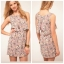 ASOS Lilac Floral Dress Size uk8 thumbnail 2