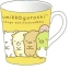 แก้วเซรามิค Sumikko Gurashi สีเหลืองเข้ม thumbnail 1